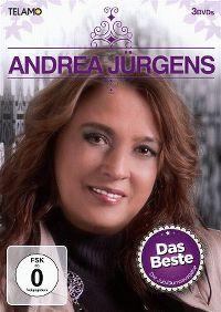 Cover Andrea Jürgens - Das Beste - Die Jubiläumsausgabe [DVD]